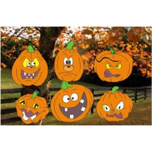 Silly Halloween Pumpkin Faces Patternsrus Seasonal Woodworking Patterns