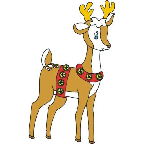 Traditional Reindeer 1 Patternsrus Seasonal Woodworking Patterns